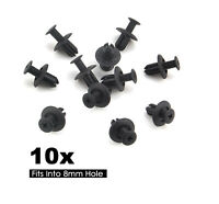 10x8mm Push-Type Rivets Fastener Fender Bumper Retainer Clip Fit Mazda Ford Kia
