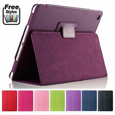 """More details for leather flip smart stand case cover for apple ipad 10.2"""" 7th/8th gen, 2019/2020"""