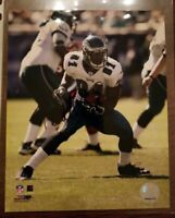 Terrell Owens Eagles Autographed 8x10 Photo authenticated with sticker
