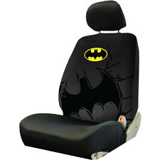 New Batman Shattered Dc Comic Black w/Logo Front Low Back Seat Covers Universal