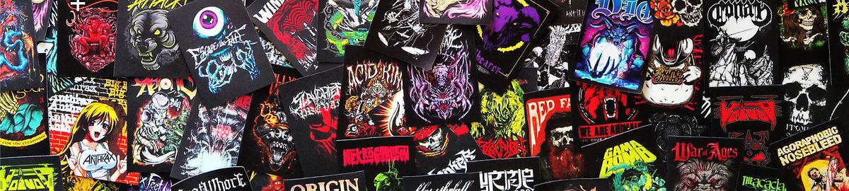 Infernal Curse patch DIY printed textile patch rock black death metal band music