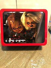 """Chucky """"bride of Chucky"""" Tin lunchbox Factory Entertainment"""
