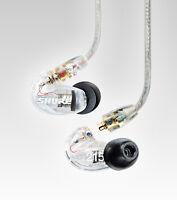 New Shure SE215-CL clear In-Ear Headphones Monitor Earphones
