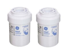 2 PACK GENUINE GE MWF Replacement Refrigerator Water Filter  Replace MWFP HWF