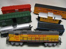 Life-Like Trains H.O. Scale 2007 Union Pacific Locomotive & 6 Rail Cars Exc