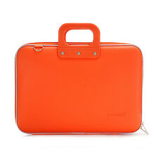 "Bombata - Orange Classic 15"" Laptop Case/Bag with Matching Shoulder Strap"