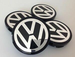 4x VW Alloy Wheel Center Caps 55mm 6N0601171 for Golf Bora Jetta etc.(Pack of 4)