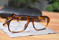 Kingsman The Secret Service Glasses Leopard Acetate Frame Man Eyewear Eyeglasses