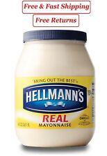 Hellmann's Real Mayonnaise 64 oz.