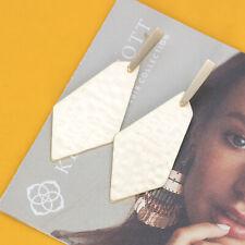 Kendra Scott Gia Drop Earrings In Gold NEW