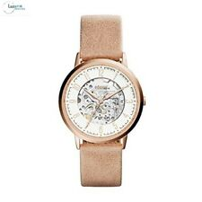 Fossil Vintage Muse Beige Leather Strap White Dial ME3152 Ladies Watch RRP £199