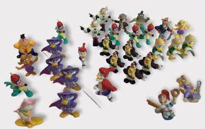 "31 Piece Lot 2"" PVC Figure 1991 Disney Kellogg's Cereal Toy Duck Tales & OthA1"