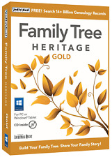 Family Tree Heritage Gold 16 for PC - Digital Download