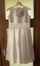 Marie Amelie Holy Communion, Bridesmaid White Dress + Bag Age 8
