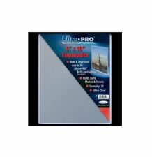 """25 8x10"""" Ultra Pro Toploader Hard Plastic Photo Sheet Protectors Sleeves Clear"""