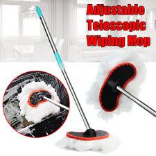 Spazzola pulizia manico Telescopico estensibile 105cm per lavaggio auto camper
