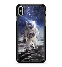 Astronaut Man Space Suit Moon Galaxy Stars Universe Planets 2D Phone Case Cover