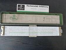 Rechentechnik - Rechenschieber Faber Castell 2/82 N