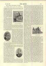 1897 SIGNOR John Lepre FOTOGRAFICA STUDIO Nelson AND SONS Edimburgo Parkside Works