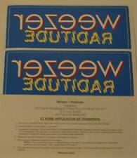 Weezer Raditude Iron On Shirt Transfer - 10 Pack