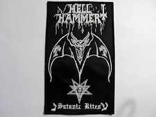 HELLHAMMER   EMBROIDERED PATCH