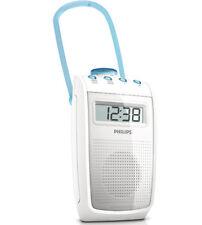 Philips AE2330 Bathroom Shower Radio Splash proof FM Clock Display