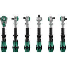 Wera herramientas 1/4 Disco Zyklop trinquete Basculante Cabeza finos dientes pulsador de liberación