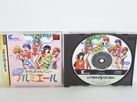 CAN CAN BUNNY PREMIERE Sega Saturn Japan Game ss