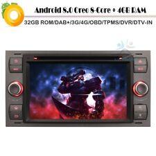 "7"" Wifi Android 8.0 CD Player Sat Navi GPS DAB+Autoradio für Ford Fiesta Fusion"