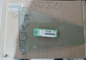 1986-1988 CHEVROLET SPRINT REAR RIGHT VENT GLASS FV3255BTN