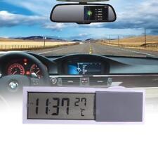 2in1 Auto Digital Uhr KFZ LCD Thermometer Mit Saugnapf Kunststoff Auto Uhr