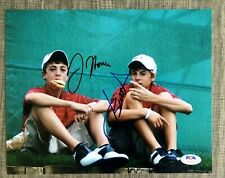 Jordan Spieth Justin Thomas Dual Signed 8x10 Vintage Kids Photo PGA PSA/DNA COA