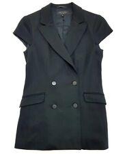 Rag & Bone Black Cap Sleeve Blazer Size 2 Womens