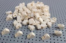 Lego White 1x2 Inverted Slope 45% (3665) x10 *BRAND NEW* Star Wars Marvel City