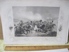 Vintage Print,BRITISH LIGHT,Balaklava,British Land+Naval Battles,1854