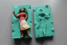 Silicone Mould 3D MOANA Sugarcraft Cake Decorating fondant fimo mold
