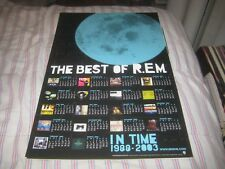 R.E.M.-(the best of r.e.m.)-1 Poster-11X17 Inches-Nmint!