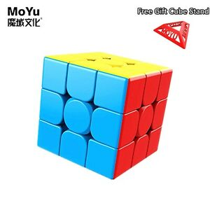 2021 NEW MoYu Stickerless 3x3x3 Speed Games Magic Cube Professional Puzzle Toys