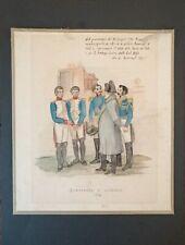 Napoleone Bonaparte in Toscana. Bonaparte a Livorno. Disegno del 1796.