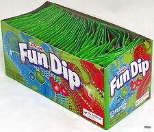 Fun Dip 48 Ct 0.43 Oz Packs Lik-M-Aid Fundip Candy Powder Sugar Bulk Candies