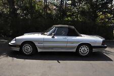 New listing 1986 Alfa Romeo Spider Veloce/Quadrifoglio Edition