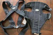 BABY BJORN Baby Carrier Original, Navy BLUE 100% Cotton, Baby Bjorn Excellent