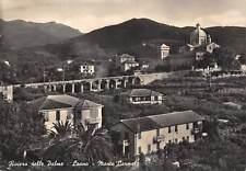 Cartolina Loano panorama Monte Carmelo 1955