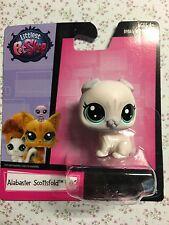 Littlest Pet Shop Alabaster Scottsfold #65 Cat Free Ship $25 Or More