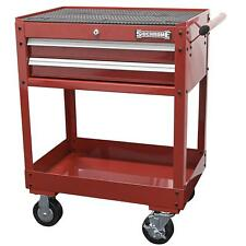 Sidchrome 2 Drawer Service Cart