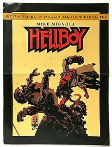 Hellboy By Mike Mignola 2001 Movie Poster Advertising Dark Horse Maverick