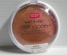 WET n Wild Coloricon Blush & Glow Trio Solar Powered 0.47oz/ 12g NEW! Sealed