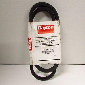 """Dayton Premium V-Belt 3X475G (B50) Outside Length 53"""" NOS"""
