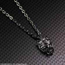 Final Fantasy VII Advent Children Cloud Strife Cloudy Wolf 925 Pendant Necklace