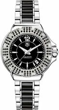Tag Heuer Formula 1 Quartz Women's Black Dial Diamond Watch WAH1216.BA0859